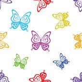 Background, butterflies — Stock Photo