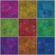 Backgrounds mosaic with pattern - Stock Photo