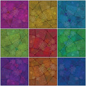 Backgrounds mosaic with pattern — Stock Photo