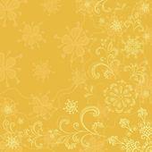 Abstrakt blomma bakgrund — Stockvektor