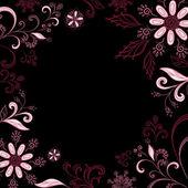 Fondo de flores abstractas — Foto de Stock