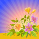 Flower background — Stock Photo #8840673