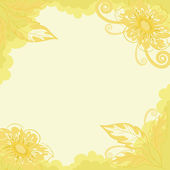Floral background, dahlia — Stock Photo