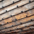 Stock Photo: Wooden ship hull texture