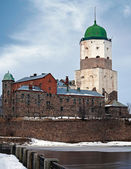 Vyborg Castle. Russia — Stock Photo