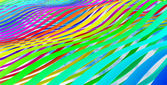 Abstract 3d colorful wave stripes background — Stock Photo