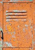 Old metal door texture — Stock Photo