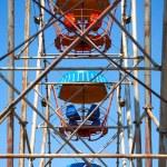 Inner space of ferris wheel — Stock Photo #10520178
