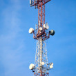 Mobile phone communication tower — Stock Photo