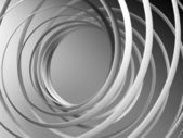 Abstract 3d spiral background — Stock Photo