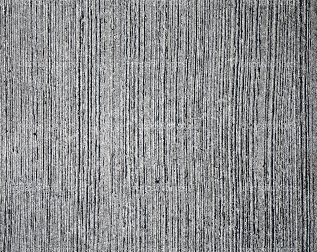 Line Texture Wall : Gray concrete wall texture with relief lines — stock photo