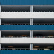 Car parking facade wall - Stock Photo