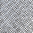 Closeup texture of diamond metal plate — Stock Photo