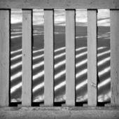 Patrón abstracto con valla de madera — Foto de Stock
