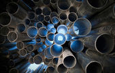 Tubes abstract background — Stock Photo