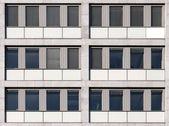 Bezszwowe biurowiec ściana tekstur — Zdjęcie stockowe