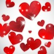 Royalty-Free Stock Imagen vectorial: Hearts and lights