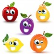 Funny Fruits — Stock Vector #9643156