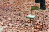 Green chair — Stockfoto