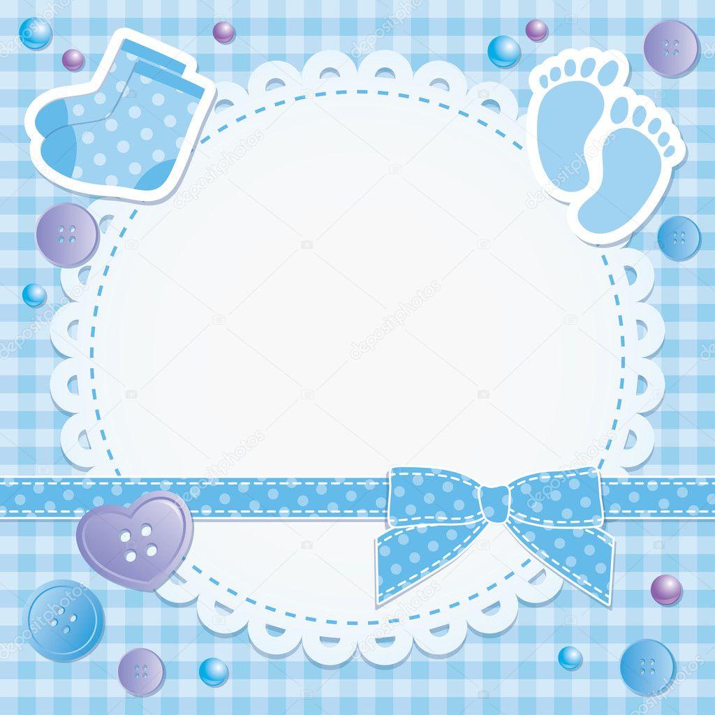 Baby frame — Stock Vector © redcollegiya #10308946
