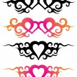Tattoo templates — Stock Vector