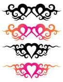 Tattoo templates — Stock Vector