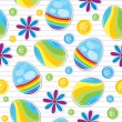 Easter seamless pattern — Stock Vector #9281346