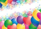 气球背景 — 图库矢量图片