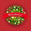 Royalty-Free Stock Imagen vectorial: Xmas Vintage Composition