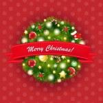 Natal e ano novo composição — Vetorial Stock