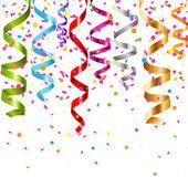 многоцветная керлинг поток — Cтоковый вектор