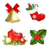 Christmas Icons — Vettoriale Stock