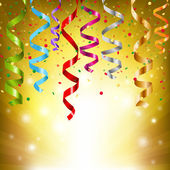 Serpentinas de festa — Vetorial Stock