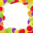 Fruit Frame — Stock Vector