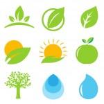 Eco Logo — Stock Vector