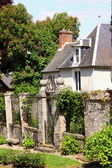 Starý dům v středověké vesnice — Stock fotografie
