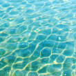 Blue rippled water — Stock Photo
