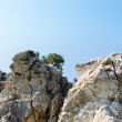 Rock mountain in Crimea, Ukraine — Stock Photo