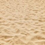Texture of yellow sand — Stock Photo
