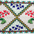 Embroidered good by cross-stitch pattern - Stock fotografie