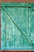 Cracked old door — Foto Stock