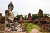 Ancient buddha image statue — Stock Photo