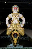 Particular of the Royal Barge, Bangkok, Thailand. — Stock Photo