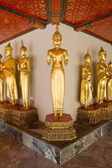 Buddha in Wat Pho thailand — Stock Photo