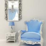 Baroque furniture in luxury interior apartment design — Stock Photo #10551366