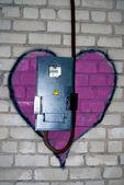 Graffiti Love — Stock Photo