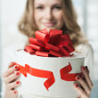 Giving present — Stock Photo #10315542
