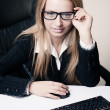 Business lady portrait — Stock Photo