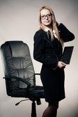 Ritratto di signora di affari — Foto Stock