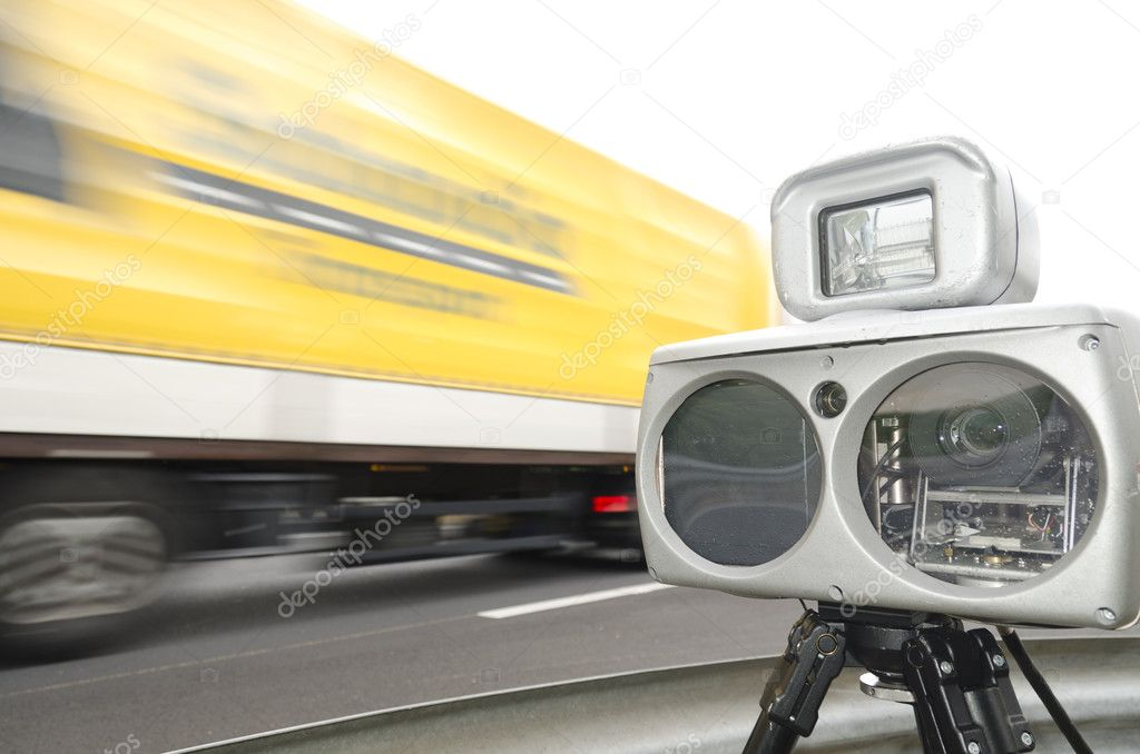 Speed control with camera  Stock Photo #10403042